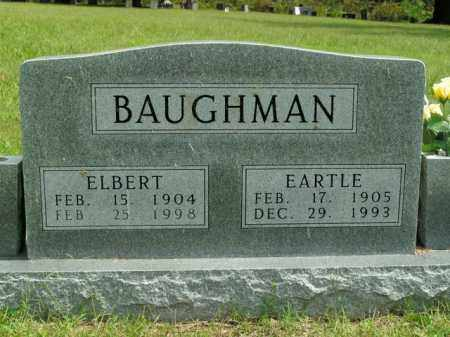 BAUGHMAN, ELBERT - Boone County, Arkansas | ELBERT BAUGHMAN - Arkansas Gravestone Photos