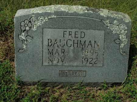 BAUGHMAN, FRED - Boone County, Arkansas | FRED BAUGHMAN - Arkansas Gravestone Photos
