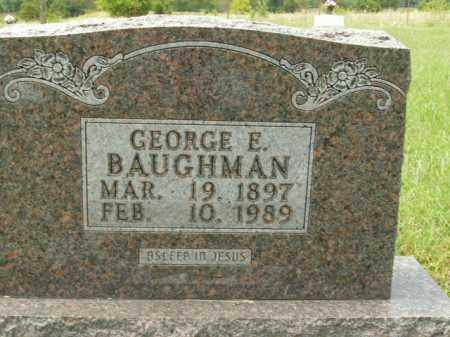 BAUGHMAN, GEORGE ELZIE - Boone County, Arkansas   GEORGE ELZIE BAUGHMAN - Arkansas Gravestone Photos