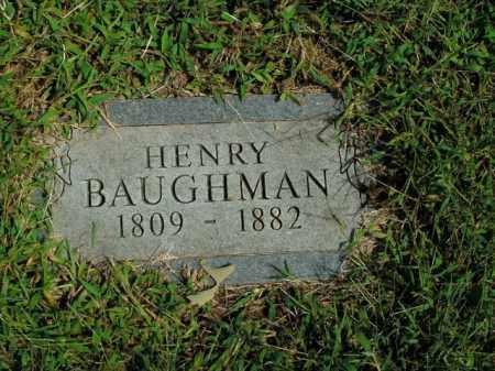 BAUGHMAN, HENRY - Boone County, Arkansas   HENRY BAUGHMAN - Arkansas Gravestone Photos
