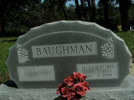 BAUGHMAN, H. CLIFFORD - Boone County, Arkansas | H. CLIFFORD BAUGHMAN - Arkansas Gravestone Photos