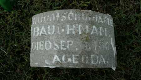 BAUGHMAN, INFANT SON - Boone County, Arkansas   INFANT SON BAUGHMAN - Arkansas Gravestone Photos
