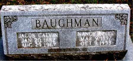 BAUGHMAN, NANCY BELLE - Boone County, Arkansas   NANCY BELLE BAUGHMAN - Arkansas Gravestone Photos