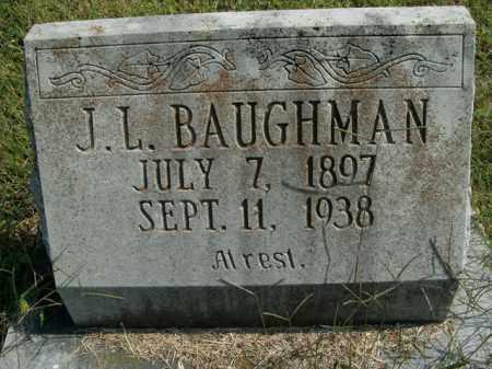 BAUGHMAN, J.L. - Boone County, Arkansas | J.L. BAUGHMAN - Arkansas Gravestone Photos