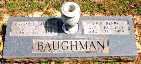 BAUGHMAN, MARGARET CALDONA - Boone County, Arkansas | MARGARET CALDONA BAUGHMAN - Arkansas Gravestone Photos