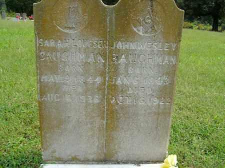 BAUGHMAN, JOHN WESLEY - Boone County, Arkansas   JOHN WESLEY BAUGHMAN - Arkansas Gravestone Photos