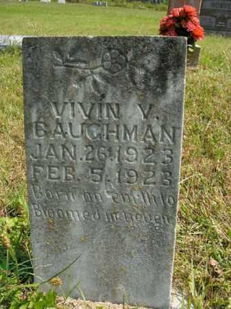 BAUGHMAN, VIVIN V. - Boone County, Arkansas | VIVIN V. BAUGHMAN - Arkansas Gravestone Photos