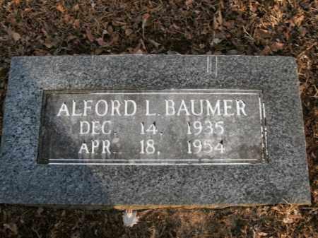 BAUMER, ALFORD LELAND - Boone County, Arkansas | ALFORD LELAND BAUMER - Arkansas Gravestone Photos