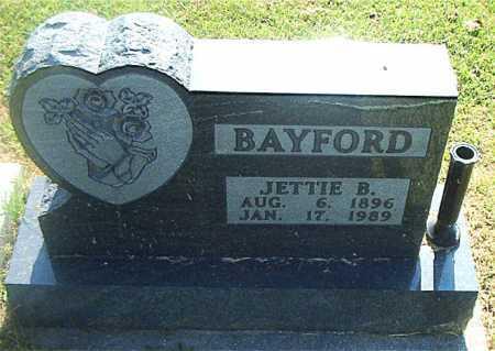 BAYFORD, JETTIE B. - Boone County, Arkansas | JETTIE B. BAYFORD - Arkansas Gravestone Photos