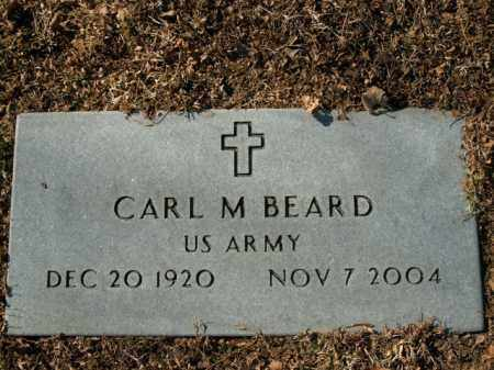 BEARD  (VETERAN), CARL M - Boone County, Arkansas | CARL M BEARD  (VETERAN) - Arkansas Gravestone Photos