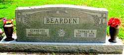 BEARDEN, THOMAS E - Boone County, Arkansas   THOMAS E BEARDEN - Arkansas Gravestone Photos