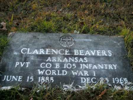BEAVERS  (VETERAN WWI), CLARENCE - Boone County, Arkansas | CLARENCE BEAVERS  (VETERAN WWI) - Arkansas Gravestone Photos