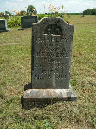 BEAVERS, CHARLEY - Boone County, Arkansas | CHARLEY BEAVERS - Arkansas Gravestone Photos