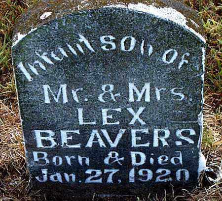 BEAVERS, INFANT SON - Boone County, Arkansas | INFANT SON BEAVERS - Arkansas Gravestone Photos