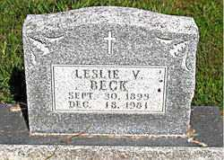 BECK, LESLIE VERN - Boone County, Arkansas | LESLIE VERN BECK - Arkansas Gravestone Photos