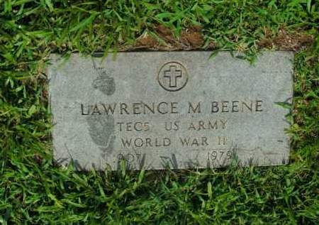 BEENE  (VETERAN WWII), LAWRENCE M. - Boone County, Arkansas | LAWRENCE M. BEENE  (VETERAN WWII) - Arkansas Gravestone Photos