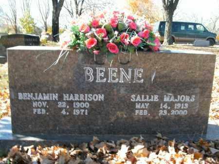 MAJORS BEENE, SALLIE - Boone County, Arkansas | SALLIE MAJORS BEENE - Arkansas Gravestone Photos