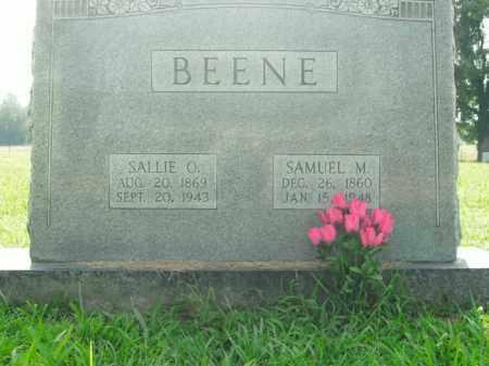 BEENE, SAMUEL MATTHEW - Boone County, Arkansas | SAMUEL MATTHEW BEENE - Arkansas Gravestone Photos