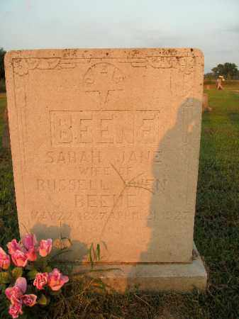 BEENE, SARAH JANE - Boone County, Arkansas | SARAH JANE BEENE - Arkansas Gravestone Photos