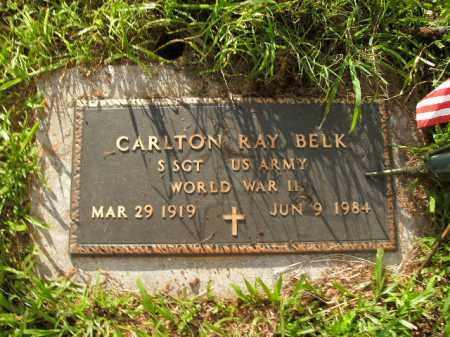 BELK  (VETERAN WWII), CARLTON RAY - Boone County, Arkansas   CARLTON RAY BELK  (VETERAN WWII) - Arkansas Gravestone Photos