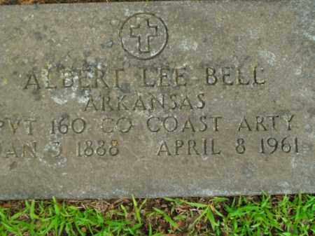 BELL  (VETERAN), ALBERT LEE - Boone County, Arkansas | ALBERT LEE BELL  (VETERAN) - Arkansas Gravestone Photos