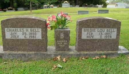 BELL, CHARLES HERBERT - Boone County, Arkansas   CHARLES HERBERT BELL - Arkansas Gravestone Photos