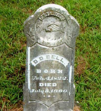 BELL, D. D. - Boone County, Arkansas | D. D. BELL - Arkansas Gravestone Photos