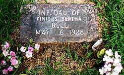 BELL, INFANT DAUGHTER - Boone County, Arkansas | INFANT DAUGHTER BELL - Arkansas Gravestone Photos