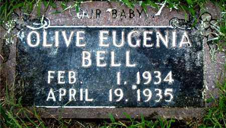 BELL, OLIVE EUGENIA - Boone County, Arkansas | OLIVE EUGENIA BELL - Arkansas Gravestone Photos