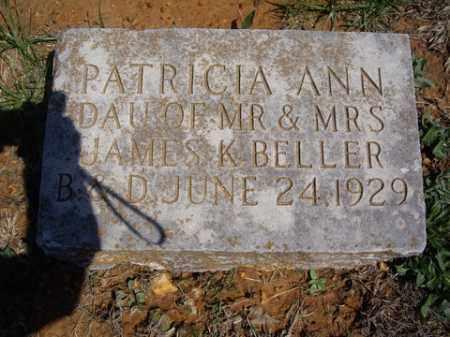 BELLER, PATRICIA ANN - Boone County, Arkansas   PATRICIA ANN BELLER - Arkansas Gravestone Photos