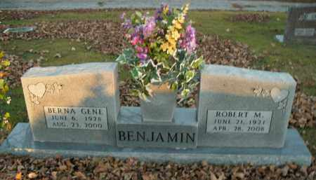 BENJAMIN, BERNA GENE - Boone County, Arkansas   BERNA GENE BENJAMIN - Arkansas Gravestone Photos