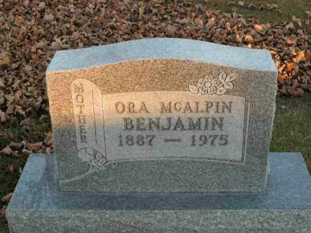 BENJAMIN, ORA - Boone County, Arkansas | ORA BENJAMIN - Arkansas Gravestone Photos