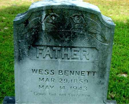 BENNETT, WESS - Boone County, Arkansas   WESS BENNETT - Arkansas Gravestone Photos