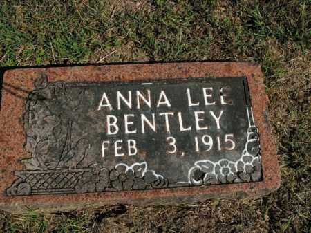 BENTLEY, ANNA LEE - Boone County, Arkansas | ANNA LEE BENTLEY - Arkansas Gravestone Photos