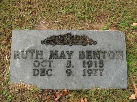 BENTON, RUTH MAY - Boone County, Arkansas | RUTH MAY BENTON - Arkansas Gravestone Photos