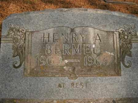 BERMEL, HENRY A. - Boone County, Arkansas | HENRY A. BERMEL - Arkansas Gravestone Photos