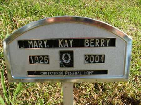 BERRY, MARY KAY - Boone County, Arkansas   MARY KAY BERRY - Arkansas Gravestone Photos