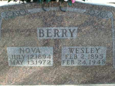 BERRY, WESLEY - Boone County, Arkansas | WESLEY BERRY - Arkansas Gravestone Photos