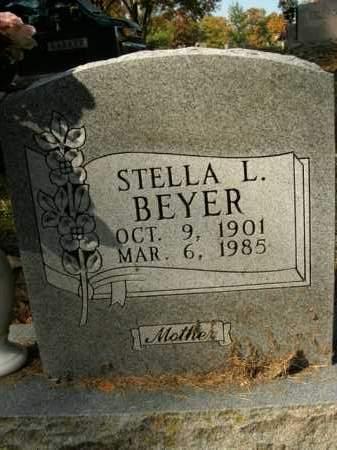 BEYER, STELLA L. - Boone County, Arkansas | STELLA L. BEYER - Arkansas Gravestone Photos