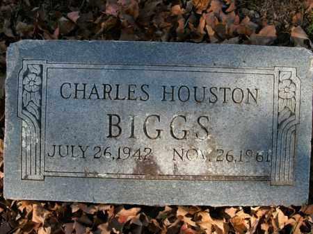 BIGGS, CHARLES HOUSTON - Boone County, Arkansas   CHARLES HOUSTON BIGGS - Arkansas Gravestone Photos