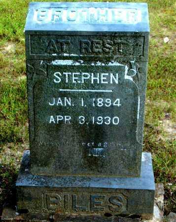 BILES, STEPHEN - Boone County, Arkansas | STEPHEN BILES - Arkansas Gravestone Photos