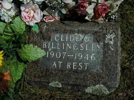BILLINGSLEY, CLIDE O. - Boone County, Arkansas | CLIDE O. BILLINGSLEY - Arkansas Gravestone Photos