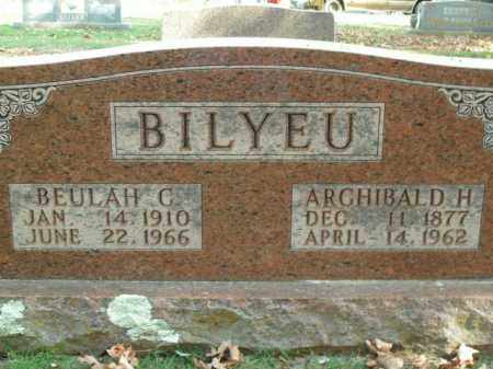 BILYEU, BEULAH C. - Boone County, Arkansas | BEULAH C. BILYEU - Arkansas Gravestone Photos