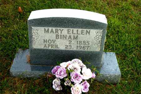 BINAM, MARY ELLEN - Boone County, Arkansas   MARY ELLEN BINAM - Arkansas Gravestone Photos
