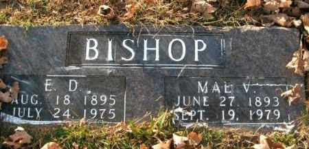 BISHOP, EUNA MAE - Boone County, Arkansas | EUNA MAE BISHOP - Arkansas Gravestone Photos