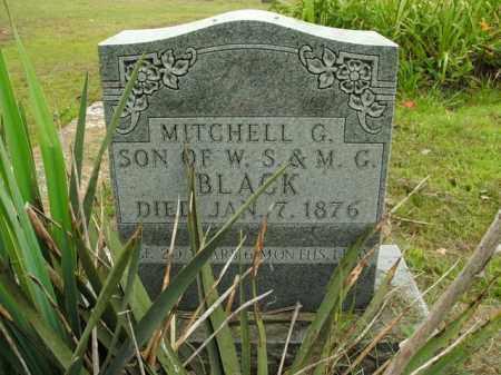 BLACK, MITCHELL G. - Boone County, Arkansas | MITCHELL G. BLACK - Arkansas Gravestone Photos