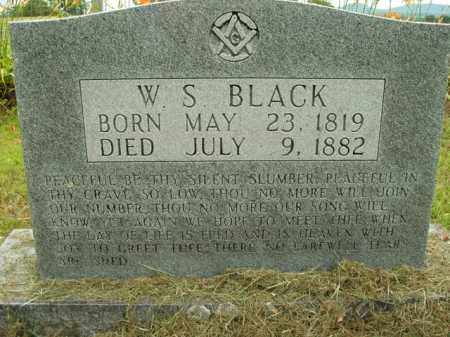 BLACK, W. S. - Boone County, Arkansas | W. S. BLACK - Arkansas Gravestone Photos
