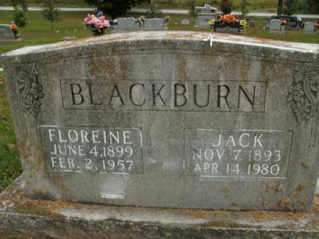 BLACKBURN, FLOREINE - Boone County, Arkansas   FLOREINE BLACKBURN - Arkansas Gravestone Photos