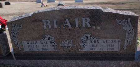 BLAIR, WILLIE MAE - Boone County, Arkansas | WILLIE MAE BLAIR - Arkansas Gravestone Photos
