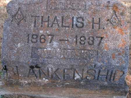 BLANKENSHIP, THALIS H. - Boone County, Arkansas | THALIS H. BLANKENSHIP - Arkansas Gravestone Photos